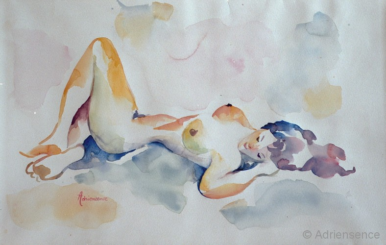 Top Henriette Adriensence - artiste peintre - Ma démarche personnelle  QM07